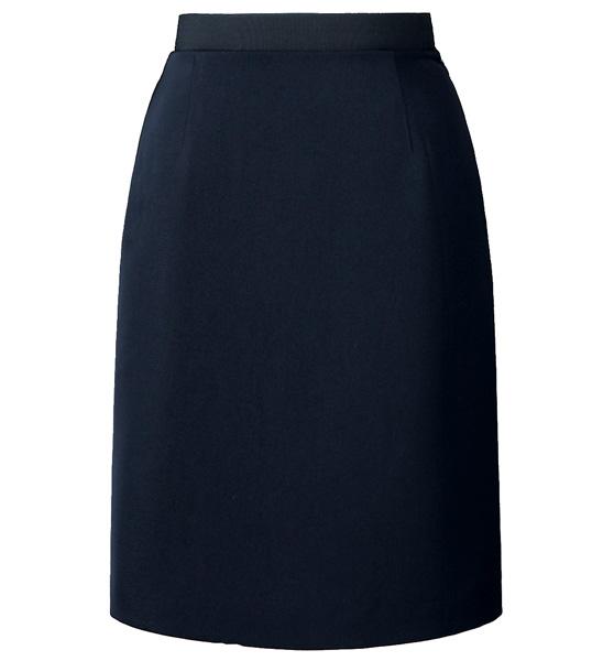 ウエストゴムAラインスカート 《ストレッチカルゼ》